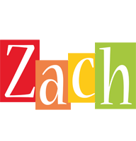 Zach colors logo