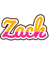 Zack smoothie logo
