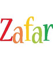 Zafar birthday logo