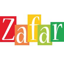 Zafar colors logo