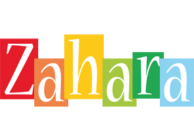 Zahara colors logo