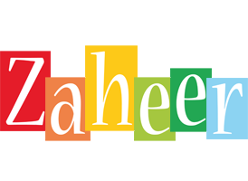 Zaheer colors logo