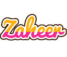 Zaheer smoothie logo