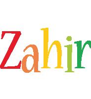 Zahir birthday logo