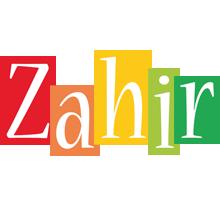 Zahir colors logo