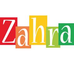 Zahra colors logo