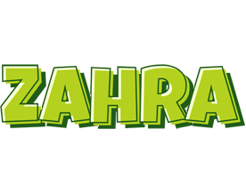 Zahra summer logo