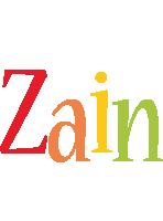 Zain birthday logo