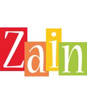 Zain colors logo