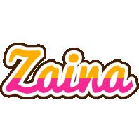 Zaina smoothie logo