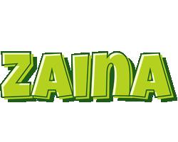 Zaina summer logo