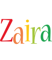 Zaira birthday logo