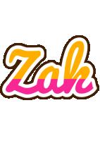 Zak smoothie logo
