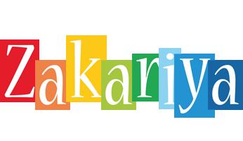 Zakariya colors logo