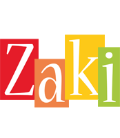 Zaki colors logo