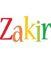 Zakir birthday logo
