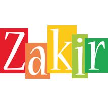 Zakir colors logo