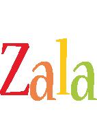 Zala birthday logo