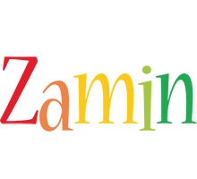 Zamin birthday logo