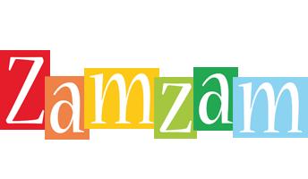 Zamzam colors logo