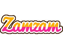 Zamzam smoothie logo