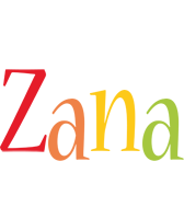 Zana birthday logo