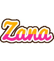 Zana smoothie logo