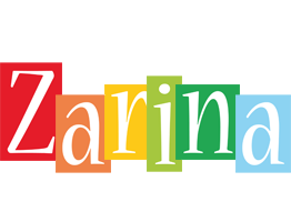 Zarina colors logo