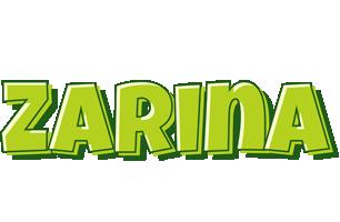 Zarina summer logo