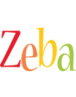 Zeba birthday logo