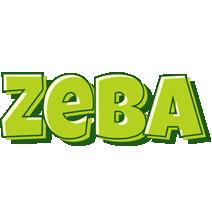 Zeba summer logo