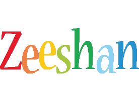 Zeeshan birthday logo