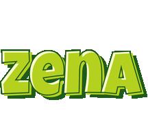 Zena summer logo