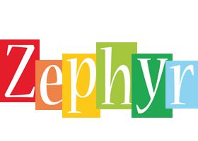 Zephyr colors logo