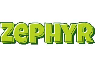 Zephyr summer logo