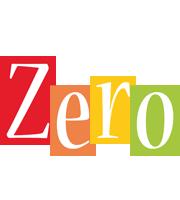 Zero colors logo