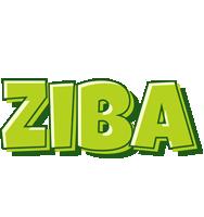 Ziba summer logo