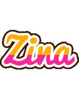 Zina smoothie logo