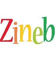 Zineb birthday logo