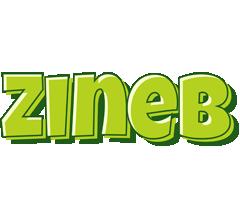 Zineb summer logo