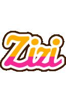 Zizi smoothie logo