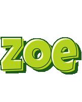 Zoe summer logo