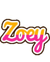 Zoey smoothie logo