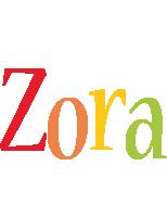 Zora birthday logo