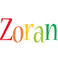 Zoran birthday logo