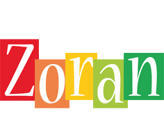Zoran colors logo