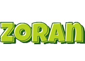 Zoran summer logo