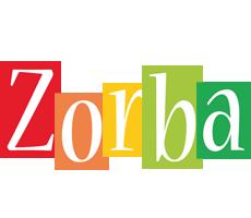 Zorba colors logo