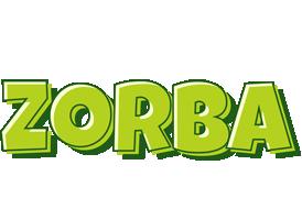 Zorba summer logo