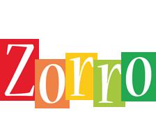 Zorro colors logo